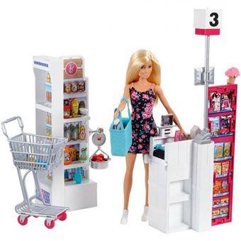 Supermercado Barbie Mattel Com Boneca