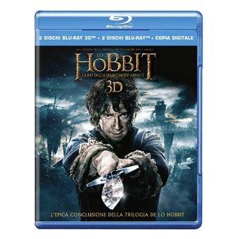 laFeltrinelli Lo Hobbit: la Battaglia delle Cinque Armate (Blu-ray 3D) Italiano
