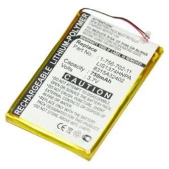 Bateria Subtel para Sony NWZ-A720 A726 A728 820 A826 A729 750mAh 1-756-702-11 1-756-702-11,LIS1374HNPA,8315A32402