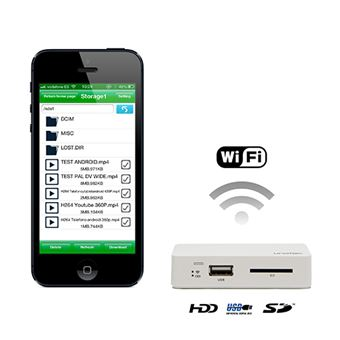Leitor de Usb/Sd Wifi Ut U-Share