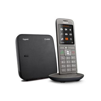 telefone Gigaset CL660  analógico/DECT Cinzento ID do Emissor e Nome