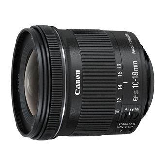 Canon EF-S 10-18mm f/4.5-5.6 IS STM + EW-73C + Lens Cloth SLR Objetiva ultra ampla Preto