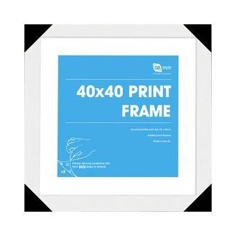 Conjunto de Quadros GB Posters  40 x 40 cm Branco