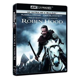 Robin Hood (2010) (4K Ultra HD) (2Blu-ray)