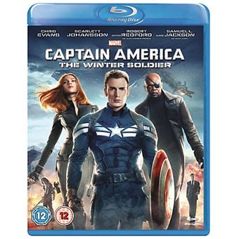 Disney Captain America: The Winter Soldier Blu-ray 2D Inglês