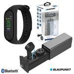 Auriculares Bluetooth Blaupunkt com Smartband Frequência V4.1