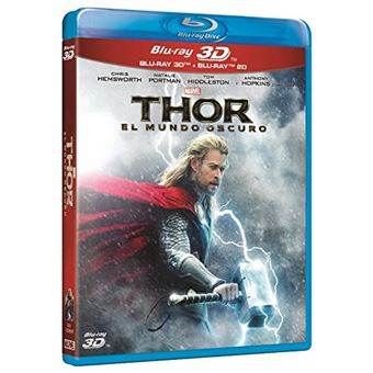 Thor The Dark World (3D+2D) / Thor El Mundo Oscuro (2Blu-ray)