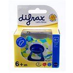 Chupeta Difrax 6+ Fisiológica com Argola