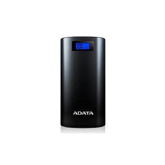 Power Bank ADATA P20000D 20000 mAh Preto