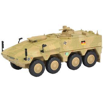 """Schuco Boxer """"""""ISAF"""""""" 1:87 Pré-montado Transporte blindado Camuflagem"""