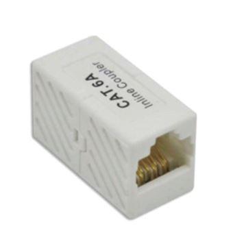 conector Triotronik WKUP KAT6A UTP  RJ45 Branco