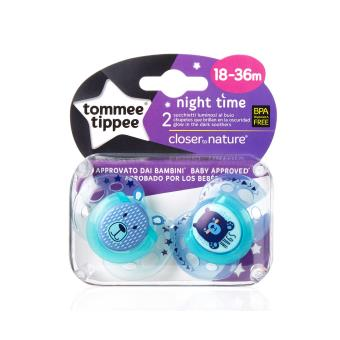 Chupeta Tommee Tippee Night Time Night baby pacifier Ortodontia Silicone Multi cor