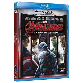 Avengers: Age Of Ultron The Avengers 2 (3D+2D) / Vengadores: La Era De Ultron (2Blu-ray)