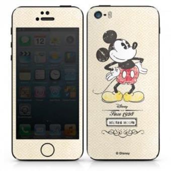 Autocolante para iPhone 5 5S Vintage Mickey