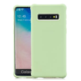 Capa e TPU Magunivers Pele Fosca Anti-Choque Verde para Samsung Galaxy S10