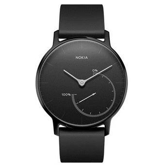 Nokia Steel Limited Edition Rastreador de atividade para pulso Preto, Inox