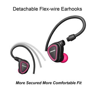 Auriculares Desporto Mini Bluetooth Magunivers JABEES sem Fios Sweatproof Rosa