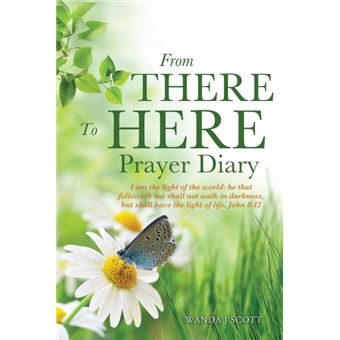 from There To Here Prayer Diary Paperback -