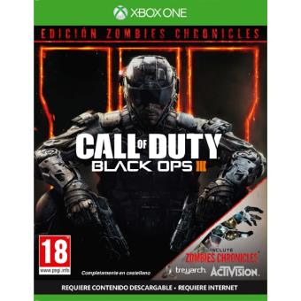 Call of Duty Black ops III Edicion Zombies Chronicles Xbox One