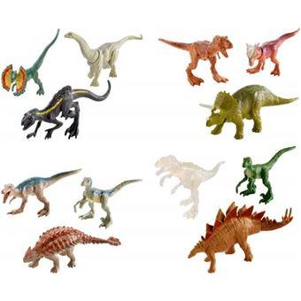 Sortido Mini Dinossauros Mattel Pack 3 Jurassic World