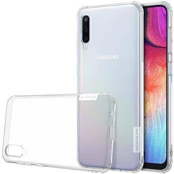 Capa TPU natureza macia branco para Samsung Galaxy A50
