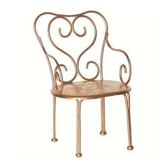 Cadeira para Bonecos Maileg | Vintage Chair - Dourado