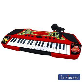 Orgão Teclado Elétrico Musical Lexibook E Faixas Disney Cars