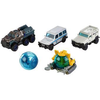Sortido Veículos Mattel Pack 5 Jurassic World