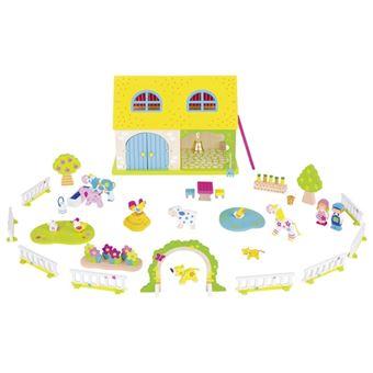 Goki 58543 casa de bonecas Madeira