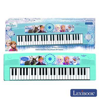 Piano Elétrico Lexibook Faixas Frozen