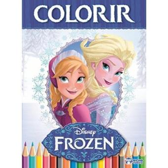 Colorir - Volume 1. Coleção Disney Frozen