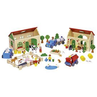 Goki 58598 casa de bonecas Madeira