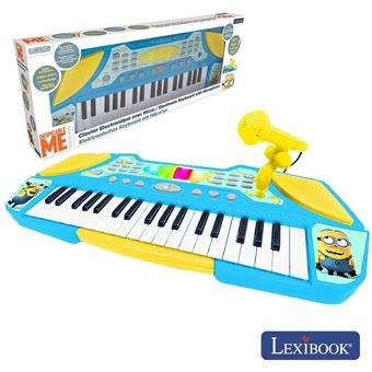 Orgão Teclado Elétrico Musical Lexibook E Faixas Minions