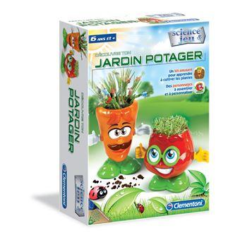 Conjunto de Ciência e Brinquedos Clementoni 52156 Jardin Potager