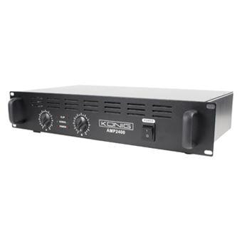 Konig PA-AMP2400-KN amplificador de áudio