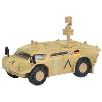 "Schuco Fennek """"ISAF"""" 1:87 Pré-montado Transporte blindado Camuflagem"