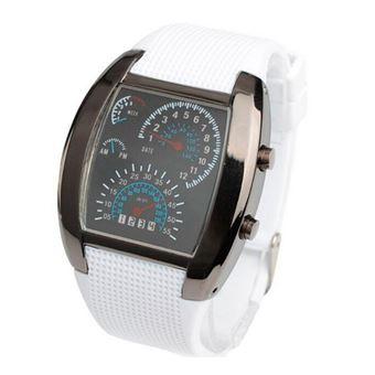 Relógio Digital CN Sport LED Branco