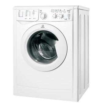Máquina de Lavar e Secar Roupa Carga Frontal Indesit IWDC 71680 ECO (EU) 7Kg A Branco