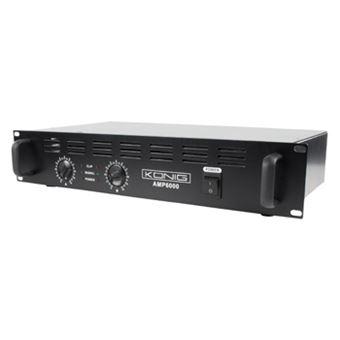Konig PA-AMP6000-KN amplificador de áudio