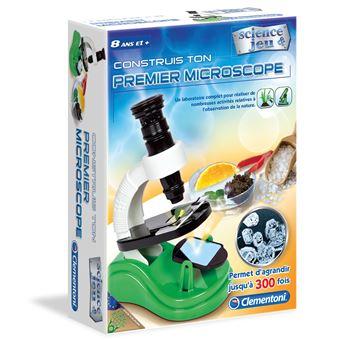 Conjunto de Ciência e Brinquedos Clementoni 62701 Construis Ton Premier Microscope