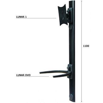 ITB AMOM06106 suporte de parede de ecrãs planos Preto