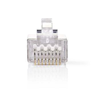 conector Nedis CCGB89306ME  RJ45 Transparente