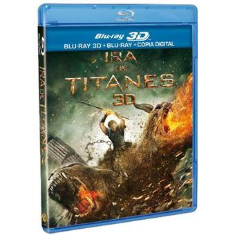 Ira De Titanes Bd2D+Blu-Ray 3D Wrath Of The Titans