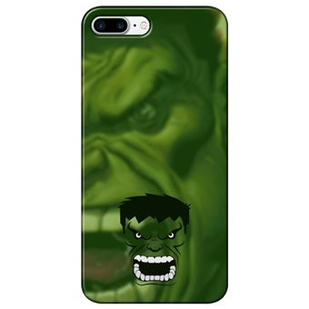 Capa Personalizada MakeUCase para iPhone 7 Plus Hulk SH05 Transparente