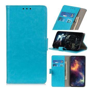 Capa PU Magunivers pé de cavalo louco azul para Samsung Galaxy A50