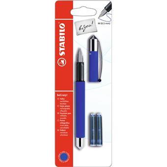 Stabilo beYou! Cartridge filling system Azul, Metálico 1peça(s) caneta de tinta permanente