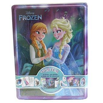 Disney Latinha Feliz. Frozen - Caixa (+ 3 Livros + Pôster + 50 Adesivos)
