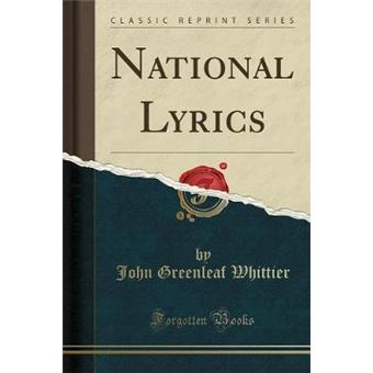 National Lyrics (Classic Reprint)