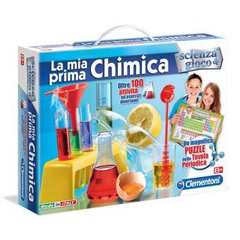 Conjunto de Ciência e Brinquedos Clementoni 12800 La Mia Prima Chimica