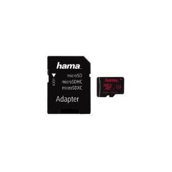 cartão de memória Hama microSDXC 64GB  Class 3 UHS  Preto